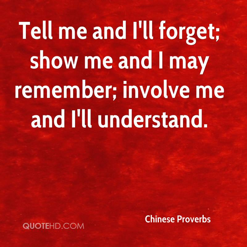 Chinese Proverb Quotes - The Quotations Page
