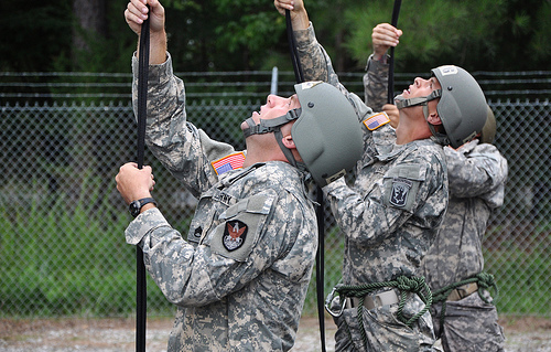 Fort Pickett hosts air assault course