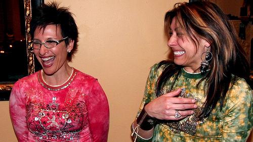 Image of women laughing