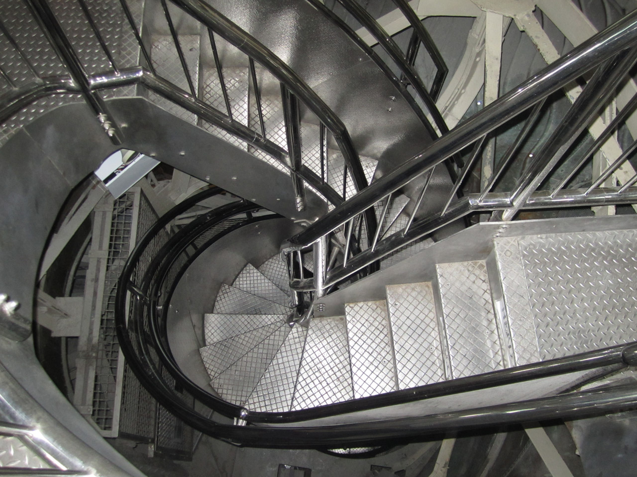 Stairs to the Crown of the Statue of Liberty  Photo from Buildipedia.com