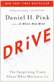"Image of Daniel Pink's book ""Drive"""