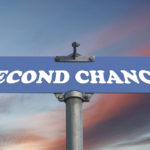 image of a second chance road sign