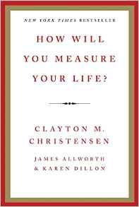 "Image of Book ""How will you measure your life?"""