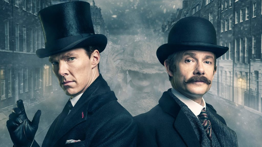 Image of Sherlock Holmes and Mr. Watson