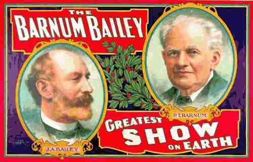 Image of Greatest Show on Earth poster