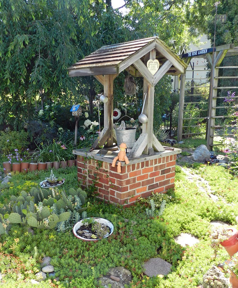 Image of a wishing well