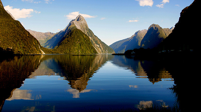 Image of Milford Sound in New Zealand