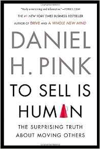 "Book Cover ""to Sell is Human"""