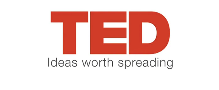 Image of the TED logo