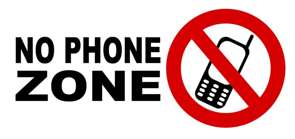 No Phone Zone Image