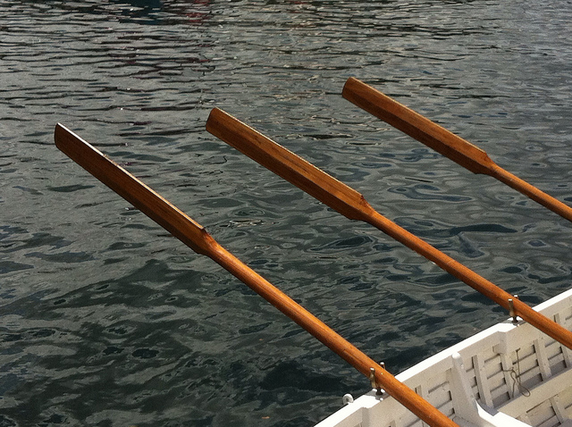 Image of oars