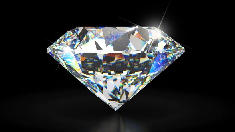 Image of cut diamond