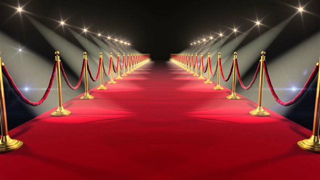 Image of the red carpet