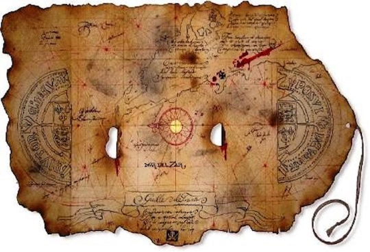 Image of an ancient map