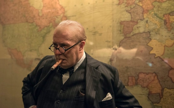 Image of Gary Oldman as Winston Churchill