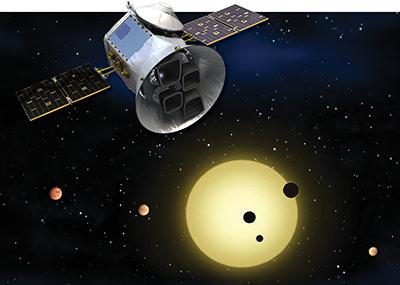 Image of TESS Satellite