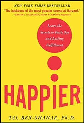 "Image of book cover ""Happier"""