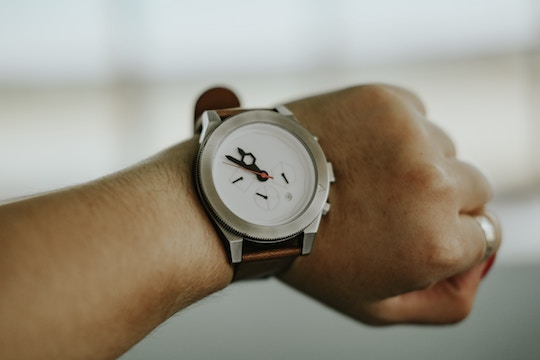 Image of a wristwatch