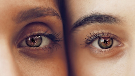 Image of two eyes next to each other