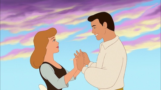 Image of Cinderella and the prince