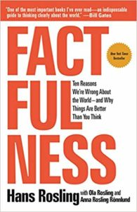 Image of Factfulness book cover