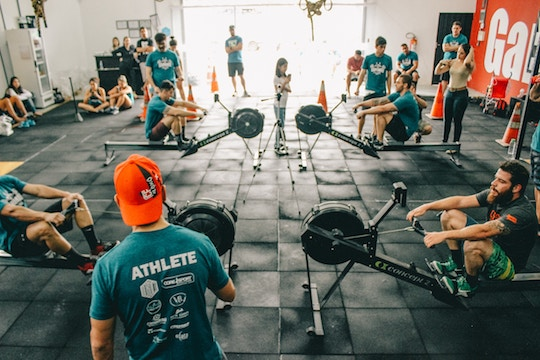 Scene at a gym
