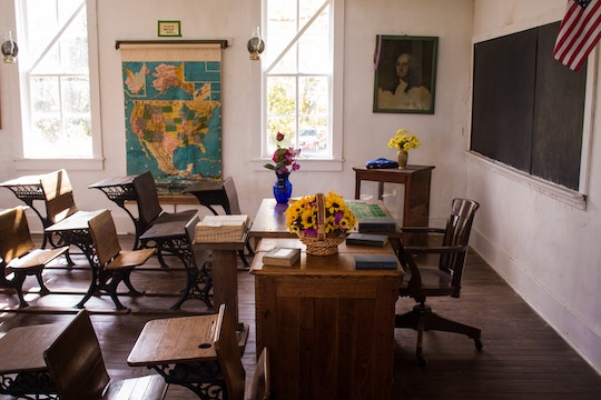 Image of an old school room