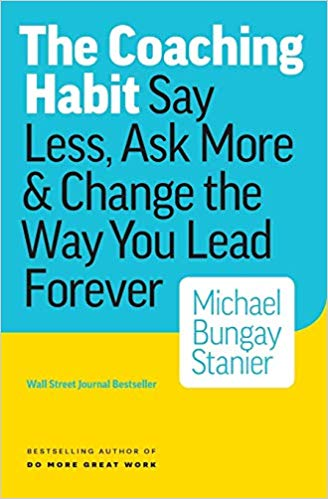 Image of The Coaching Habit book cover