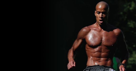 image of David Goggins running
