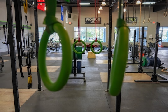 Image of an empty gym