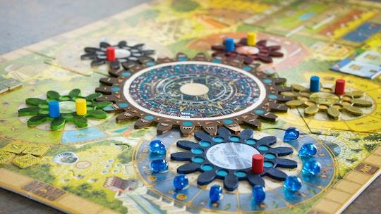 Image of a mandala puzzle