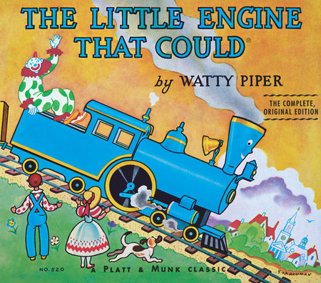 "Image of the book cover of ""The Little Engine that Could"""