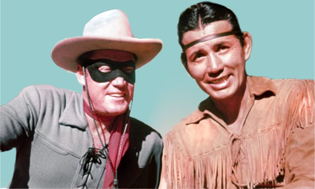 Image of The Lone Ranger and Tonto